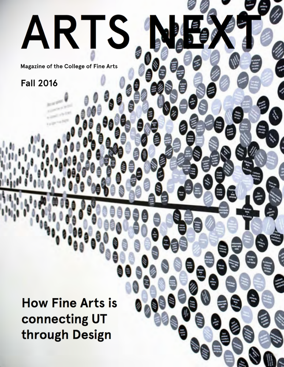 Arts Next Fall 2016 cover