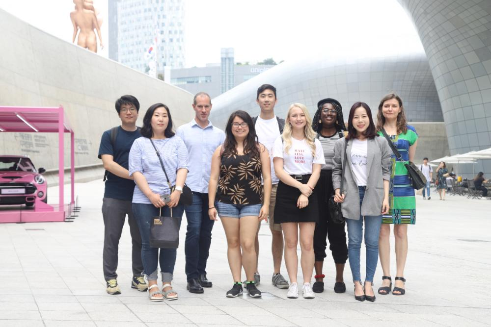 A team of students and their mentors spend the summer in Seoul, Korea to build an app to address mental health issue in South Korea.