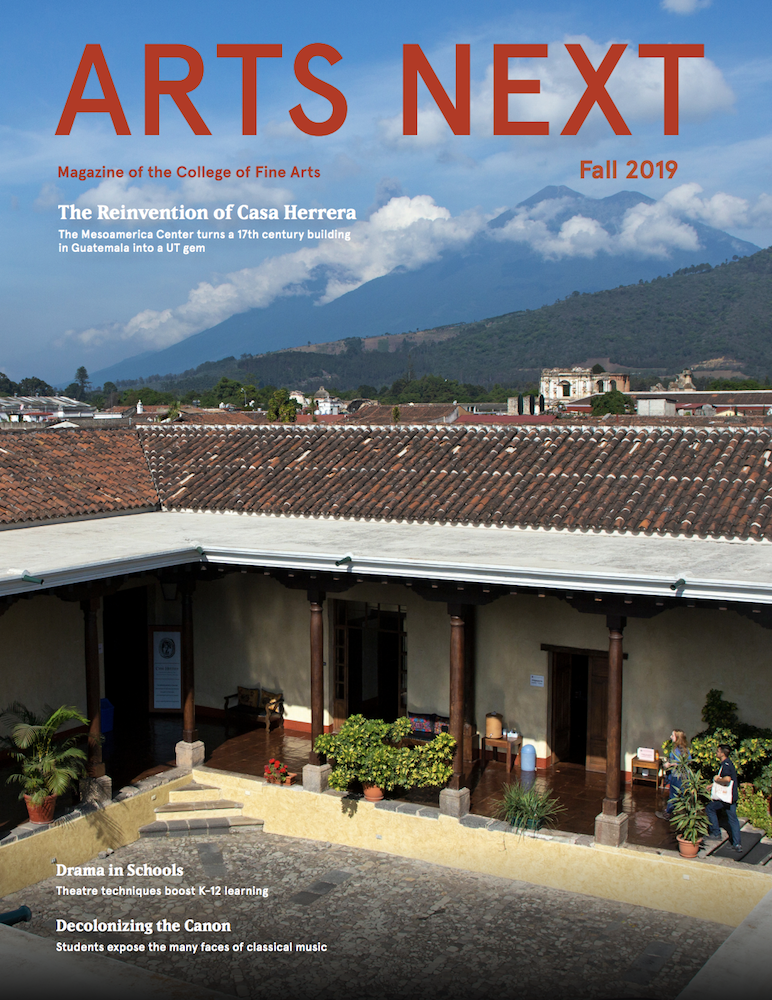 Cover of Fall 2019 Arts Net magazine
