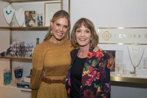 Kendra Scott, left, and Jan Ryan at the launch event for the WEL Institute.