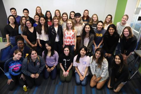 Class photo from Women in Entrepreneurship