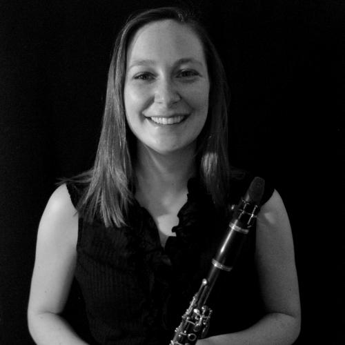 Sarah Borshard is a clarinetist and guides prospective students through the admissions process for the Butler School of Music.