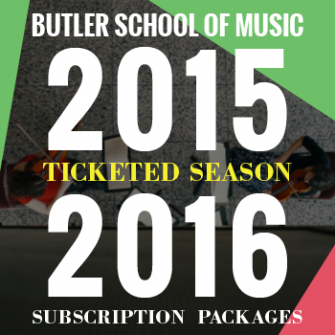 Announcing the Butler School's 2015-2016 season