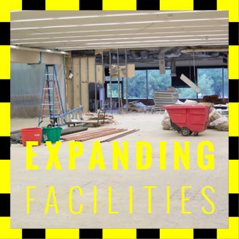 Expanding facilities