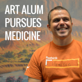 Art Alum Pursues Medicine