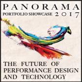 rainbow graphic with panorama portfolio showcase details May 1