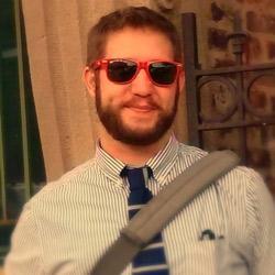 a photo of James Ogden wearing sunglasses