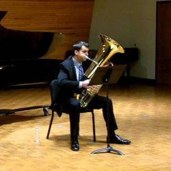 Recital & Master Class: Jeremy Lewis, tuba and euphonium