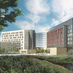 Artists Rendering of the Dell Medical School