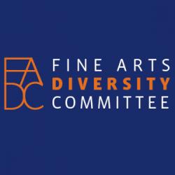 Fine Arts Diversity Committee logo
