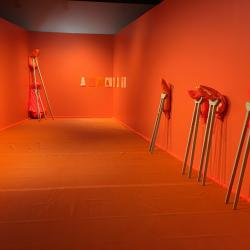 "Jade Walker's show ""Four Cornered"" is on view now at Texas State. Photo courtesy of Jade Walker."