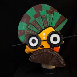 mask made from recycled material