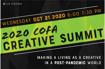 Creative Summit October 21st at 6pm