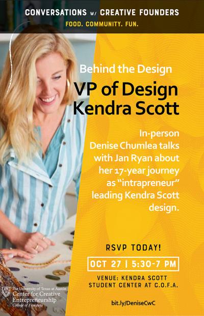 Denise Chumlea, VP of Design at Kendra Scott