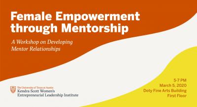 Female Empowerment Through Mentorship