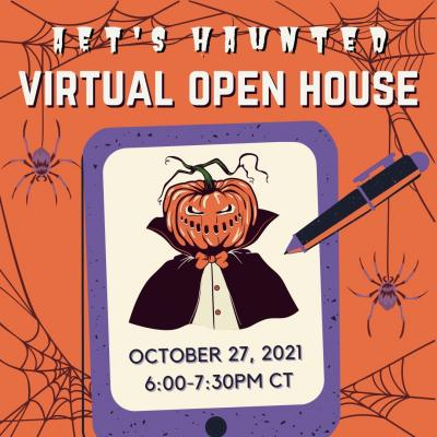 AET Haunted Virtual Open House