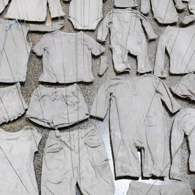 Beili Liu clothing installation