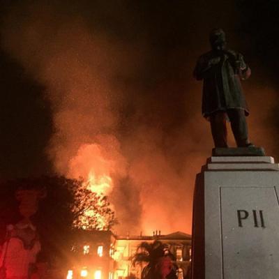 Brazil National Museum fire