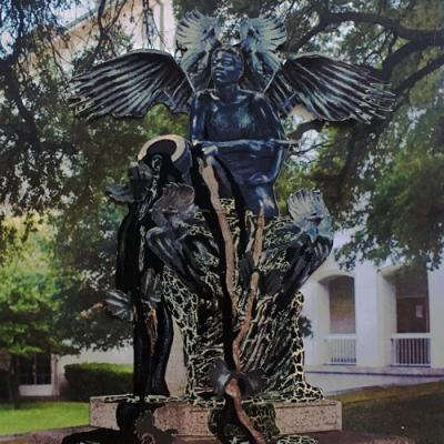 Nicole Awai art monument