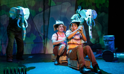 """""""Tomás and the Library Lady"""" at Dallas Children's Theatre. Photo by Linda Blase."""