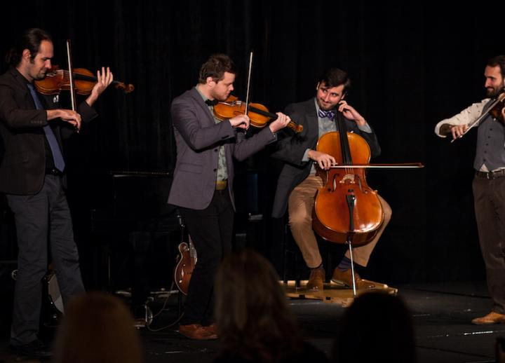 Invoke string quartet performs