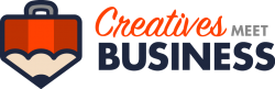 Creatives Meets Business Logo