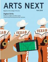Arts Next fall 2018 cover