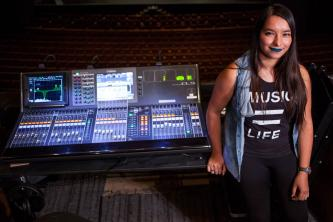 Theatre and Dance student discovers interest in sound design